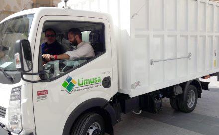 Limusa invierte 130.000 euros en renovar su parque móvil ligero de limpieza viaria