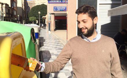 La aportación ciudadana de briks, botellas y latas al contenedor amarillo crece un 23% en abril
