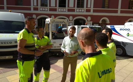 Limusa destina un 30% más de efectivos para la limpieza de la Feria de Día y duplica la dotación de contenedores en la zona centro