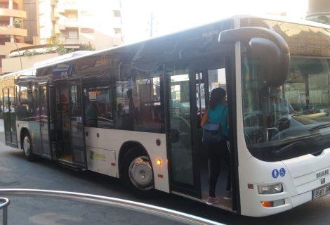 Líneas transporte urbano